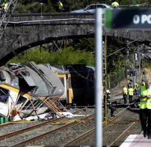Tren se descarrila al noroeste de España