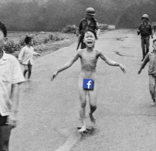 "La famosa foto de ""la niña de napalm"" fue un emblema de los horrores de la guerra de Vietnam."