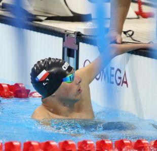 Nadador chileno Alberto Abarza avanzó a la final de natación en Paralímpicos