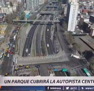[VIDEO] Un parque cubrirá la autopista central