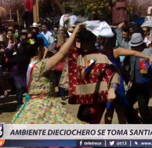 [VIDEO] Parque Padre Hurtado dio el puntapié inicial a la Semana de la Chilenidad