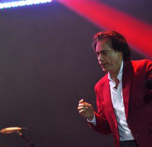 """José Luis """"El Puma"""" Rodríguez, cantó con un tanque de oxígeno"""