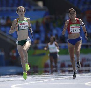 Atleta chilena rozó el bronce en los 400 metros de los Paralímpicos de Río 2016