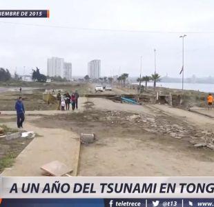 [VIDEO] La lenta reconstrucción a un año del tsunami en Tongoy
