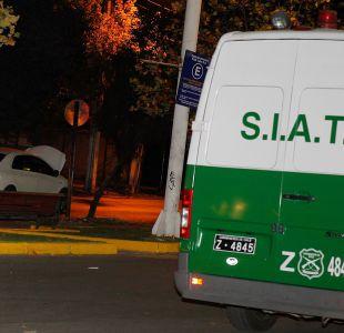 Menor de 15 años muere tras chocar con un poste en Maipú