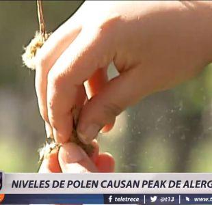 [VIDEO] Niveles de polen causan peak de alergias