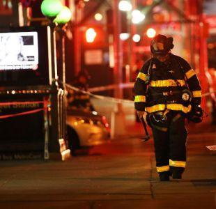 Los 29 heridos en explosión de Nueva York son dados de alta