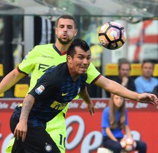 """Inter con Gary Medel iguala en """"duelo de chilenos"""" en la Liga Italiana"""