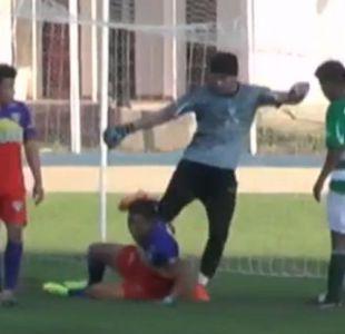 [VIDEO] Futbolista relata como fue la violenta agresión que recibió en la Tercera División