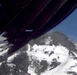 [FOTOS] El cóndor que alteró el ángulo de la cámara que vigila el volcán Nevados de Chillán