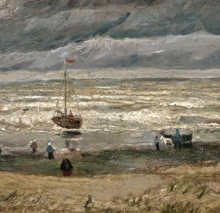 """La pintura """"Vista de la playa de Scheveningen"""" ha sido descrita por los expertos como invaluable."""