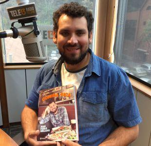 [Audio] Juan Pablo Mellado detalló libro Comida Rica en Tele13 Radio
