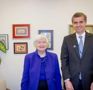 Presidente del Banco Central se reúne con la Presidenta de la Reserva Federal de EE.UU.