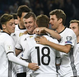 Alemania golea con tranquilidad a República Checa por las clasificatorias europeas