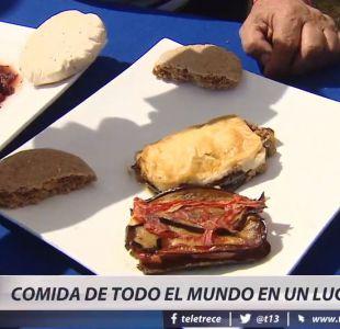 [VIDEO] 36 países en la Fiesta de las Naciones de Malloco y su diversa oferta culinaria