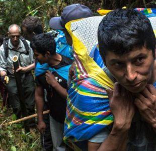 Los exploradores tras la pista de El Dorado, la ciudad inca perdida en el Amazonas peruano