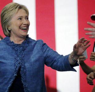 Hillary Clinton en West Palm Beach, Florida.
