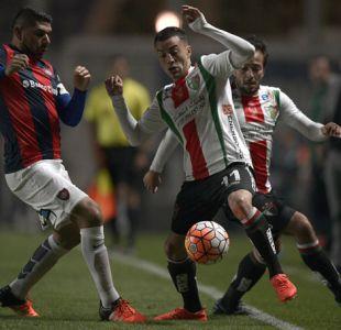 [Minuto a Minuto] Palestino está perdiendo ante San Lorenzo por Copa Sudamericana