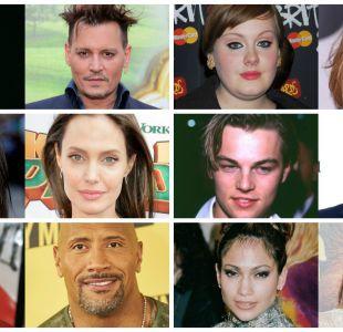 [FOTOS] Antes y después: 21 famosos a través de los años