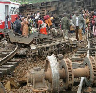 Descarrilamiento de un tren en Camerún deja 55 muertos y más de 500 heridos