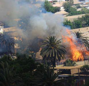 Alerta Roja en Vallenar: suspenden clases por incendio forestal