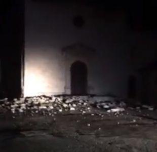 [VIDEO] Sismo de 5,5 Richer sacude el centro de Italia