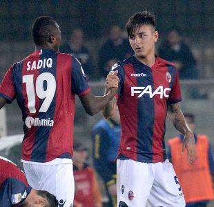 [VIDEO] Erick Pulgar anota su primer gol de la temporada en Bologna