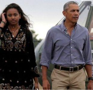 El presidente Barack Obama cuenta que fue ridiculizado por su hija en Snapchat