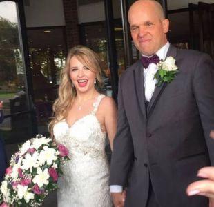 El hombre que se casó con la mujer a quien le donó parte de su hígado