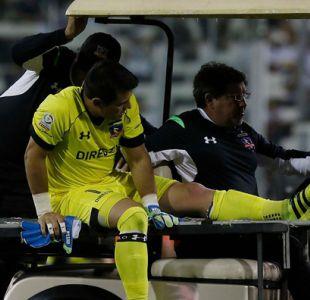 Justo Villar se pierde el resto de la temporada en Colo Colo por lesión