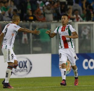 [VIDEO] Mira el golazo de Leonardo Valencia en Palestino por Copa Sudamericana