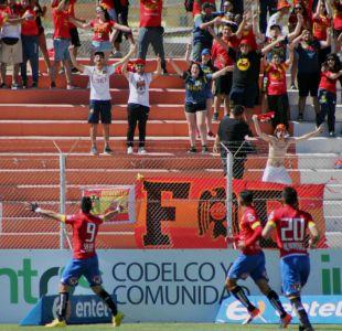 Unión Española derrota a Cobresal y sigue a la caza del líder Deportes Iquique