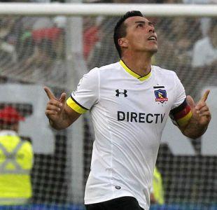 Esteban Paredes se convierte en el tercer goleador histórico de Colo Colo