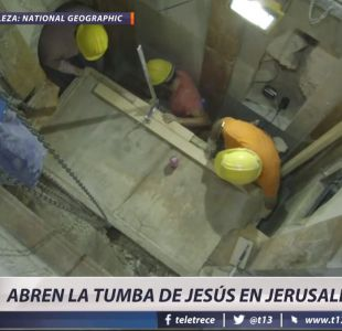 [VIDEO] Científicos destapan la tumba de Jesús