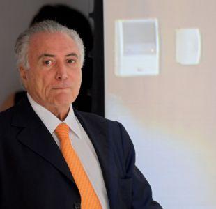 Temer obtiene un respiro en crisis por corrupción en Brasil
