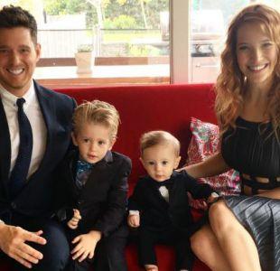 Michael Bublé vuelve a cancelar su participación en premiación para cuidar a su hijo con cáncer