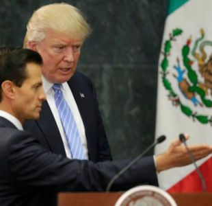 La visita de Trump a México le valió durísimas críticas al presidente Enrique Peña Nieto.