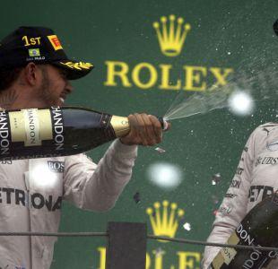 Fórmula 1: Hamilton triunfa en Brasil y el título se definirá en última carrera de la temporada