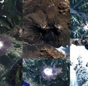[FOTOS] Revelan imágenes satelitales de los 90 volcanes activos de Chile