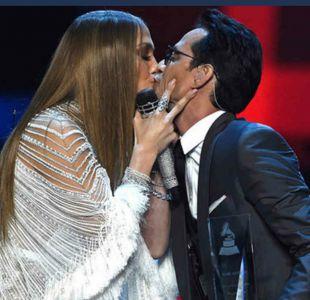 Jennifer Lopez no fue la única: Marc Anthony se besa con todo su staff después del Grammy Latino