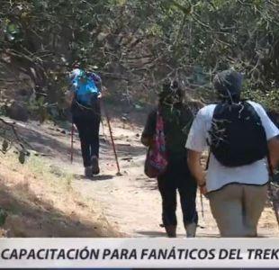 [VIDEO] Capacitación para fanáticos del montañismo