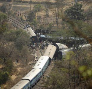 Más de 100 muertos y 150 heridos deja el descarrilamiento de un tren en India