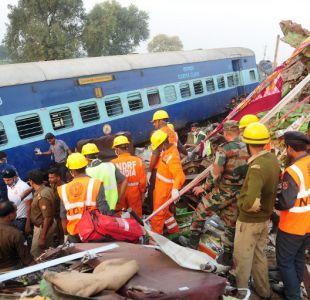 Los peores accidentes ferroviarios en el mundo desde hace 20 años