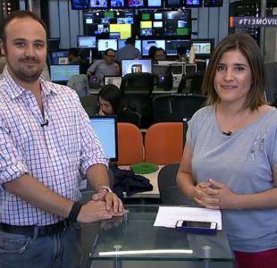 Juan Pablo Figueroa, periodista de Contacto, habló con T13 móvil de cómo fue la investigación sobre los talleres mecánicos de los vehículos de Carabineros.