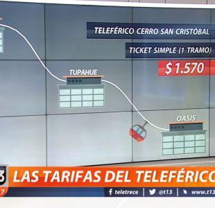 ¿Cómo funciona y cuánto cuesta el nuevo teleférico del Cerro San Cristóbal?