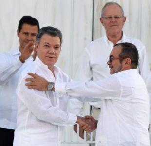 El histórico acuerdo de paz entre el gobierno colombiano y las Farc ocurrió el pasado 26 de septiembre en Cartagena de Indias, Colombia.