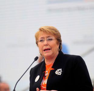 Adimark: Bachelet se mantiene en un 24% pero Gobierno baja 4 puntos en respaldo