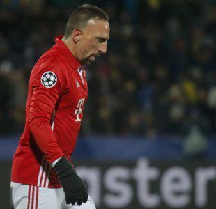 Franck Ribery amplía su contrato con Bayern Munich hasta 2018