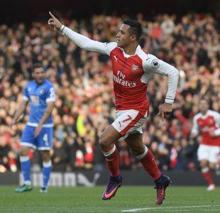 El líder más natural del Arsenal: la prensa inglesa elogia actuación de Alexis