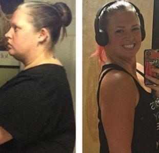 [FOTOS] Perdió más de 60 kilos eliminando estos 3 elementos de su dieta diaria